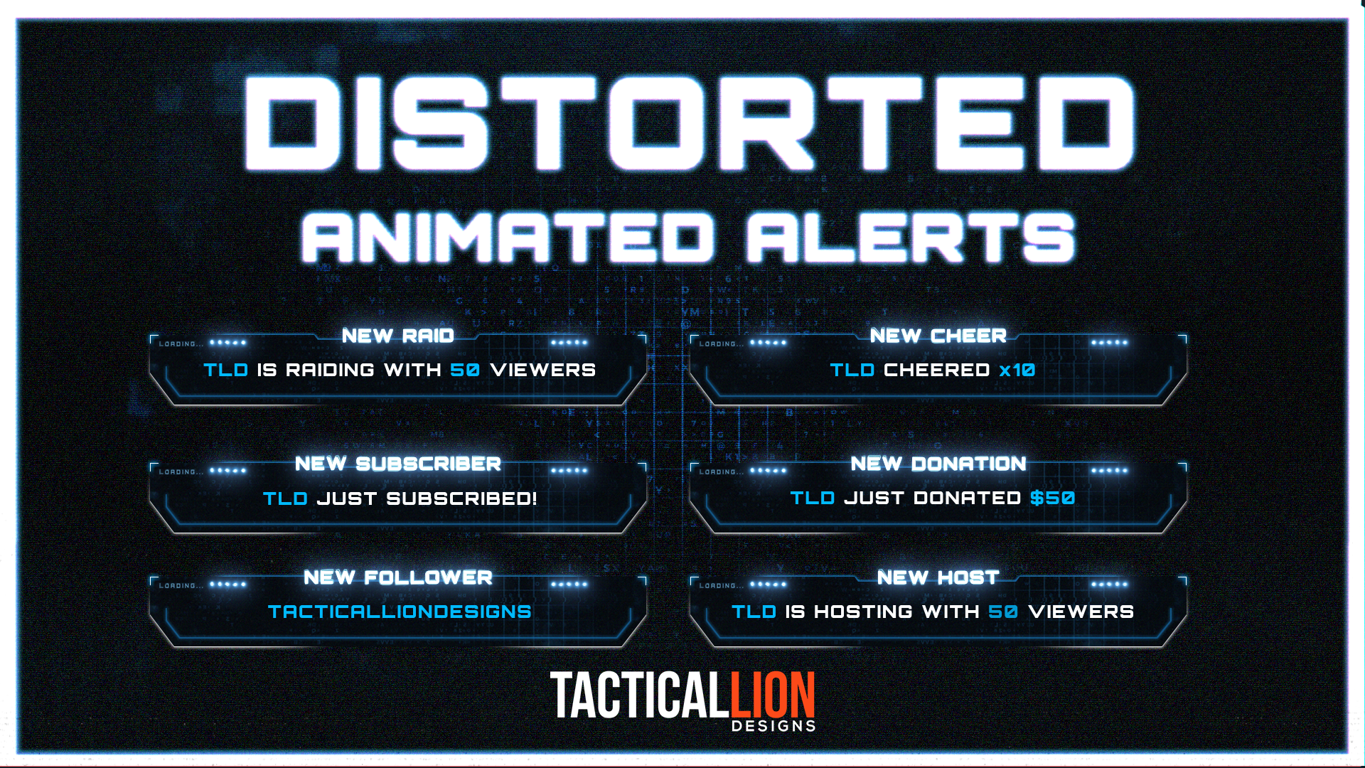 stream alerts distorted