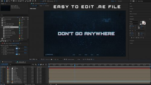 Easy to edit AE