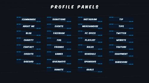 Spark-Twitch-Panels