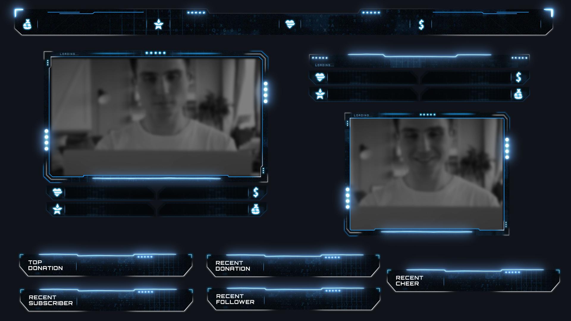 Atlas Webcam Overlay