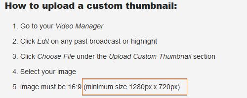 Twitch Thumbnail Size