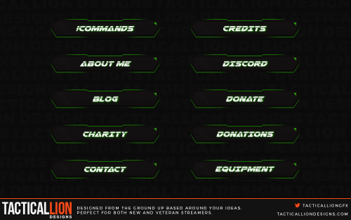 Shaped Twitch Panels 1
