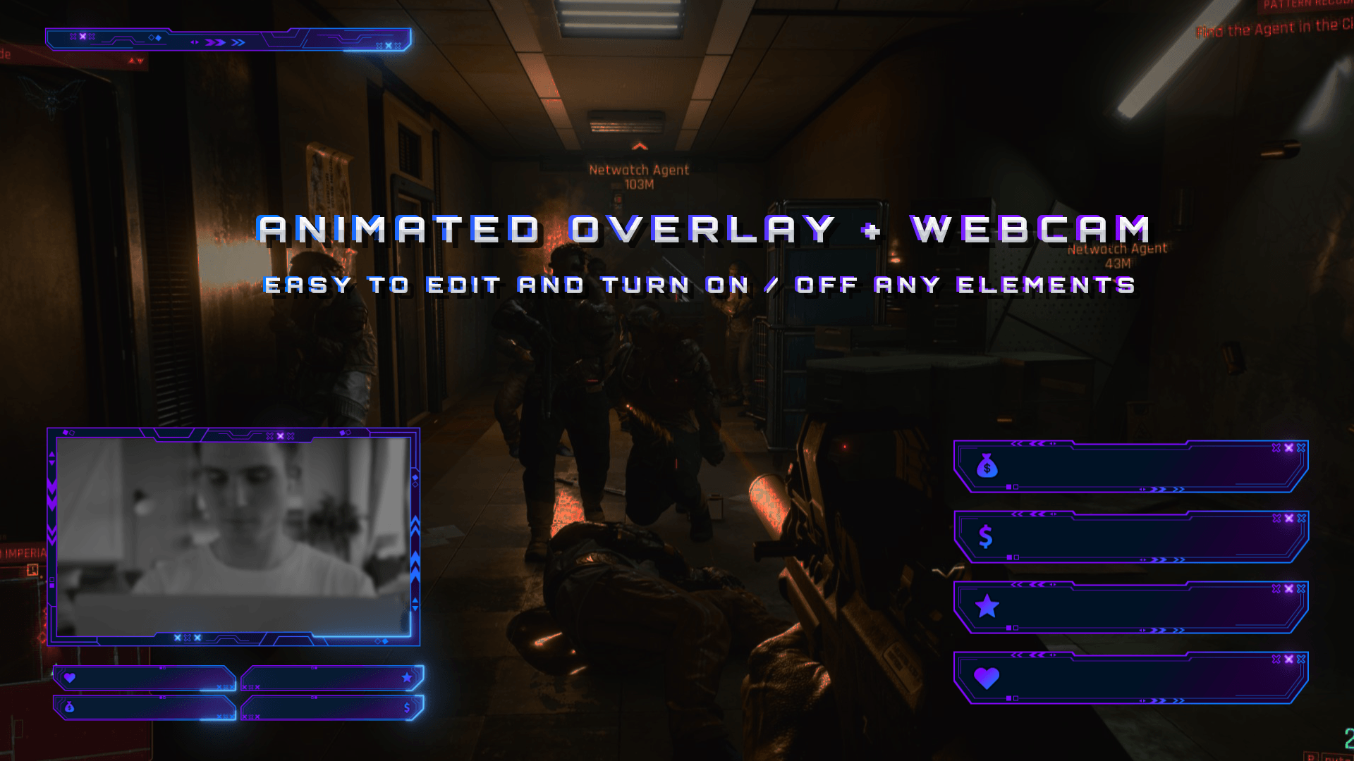 Player One Overlay