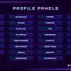 Player One_Profile Panels