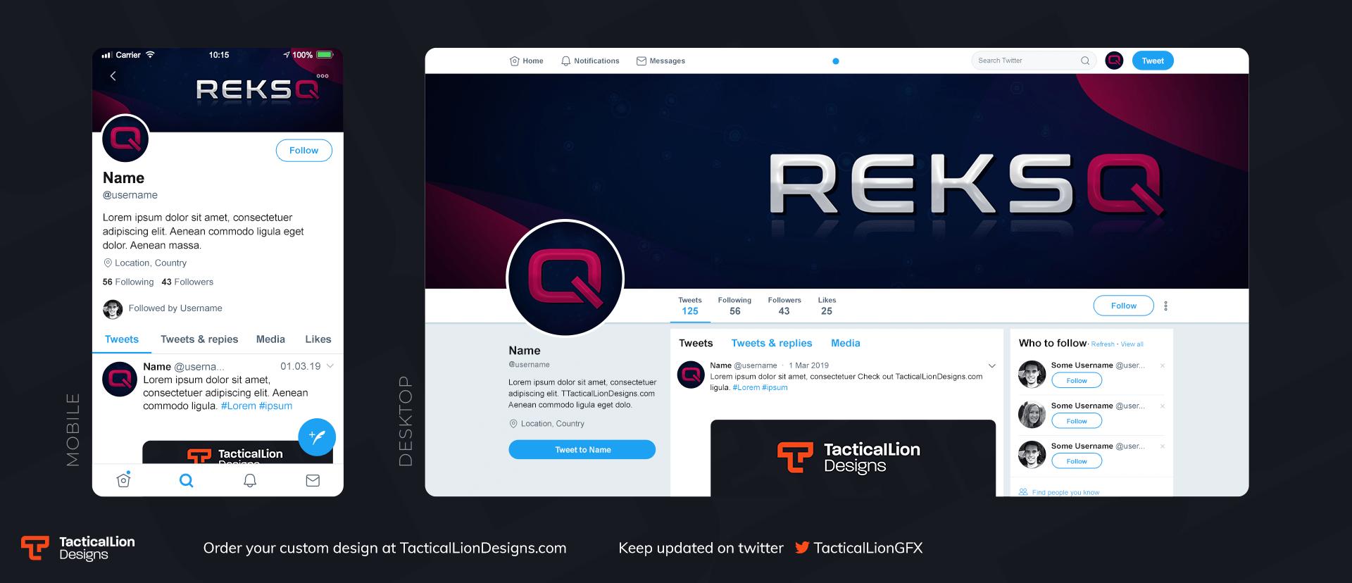 Twitter Header Reksq