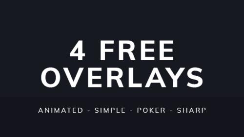 4 Free Twitch Overlays