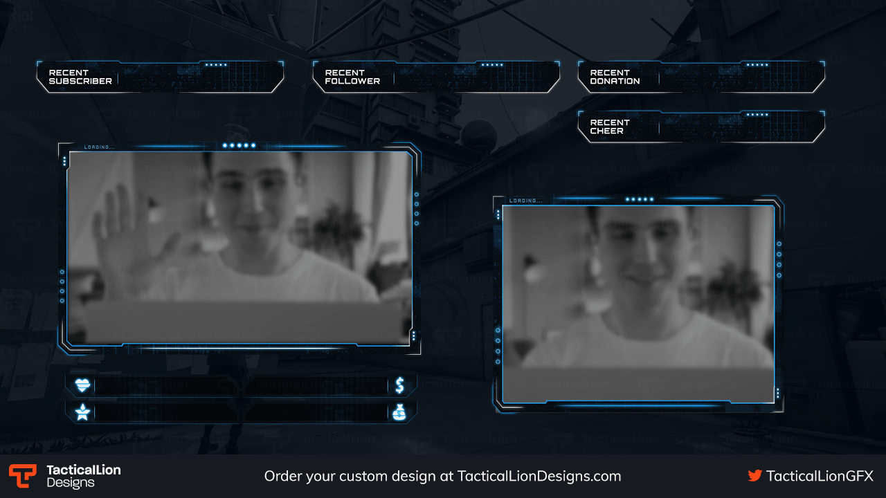 Stream Overlay Distorted